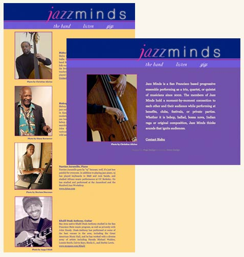 Portfolio Image: Jazzminds Website