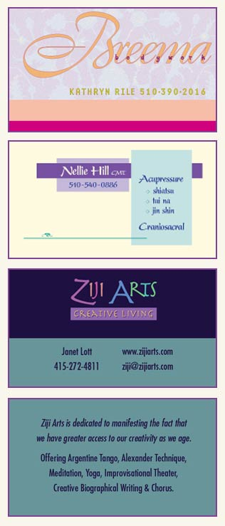 Image of Various Business Cards