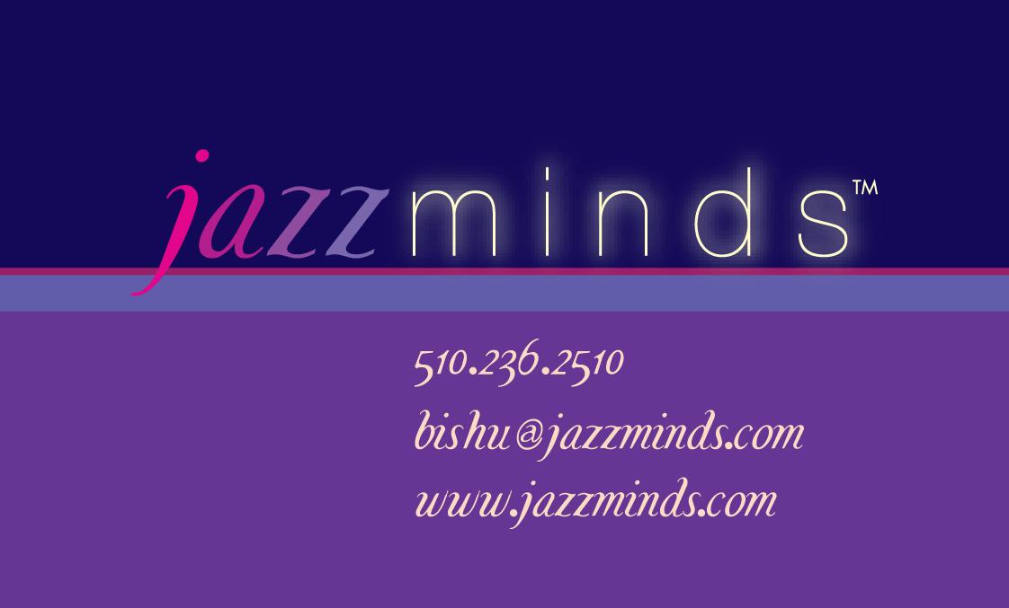 Image of JazzMinds business card