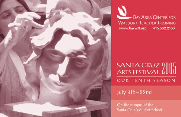 Image of Santa Cruz Arts Festival Brochure