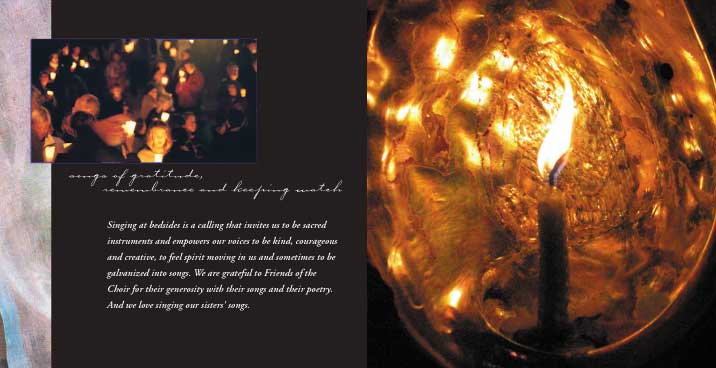 Image of Threshold Choir CD Inside